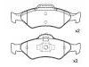 Brake Pad Set:YS61-2K021-AA